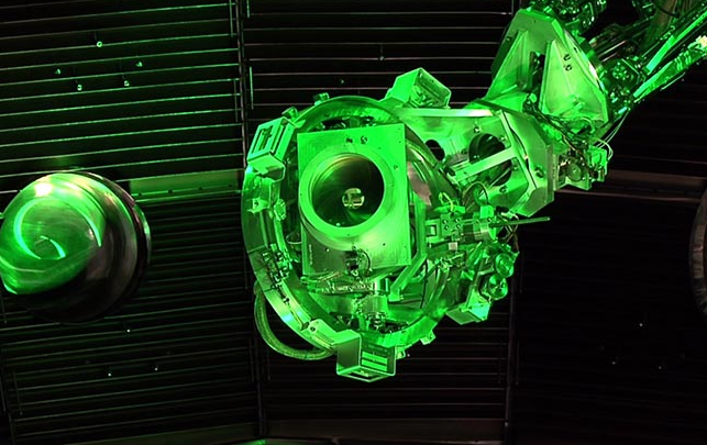 Inside the Largest Laser and Fusion Chamber in the World