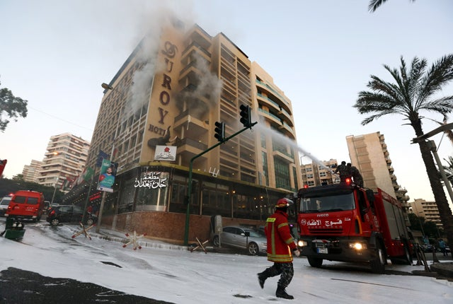 Beirut Hotel Blasted by Suicide Bomber Possibly Connected to ISIS