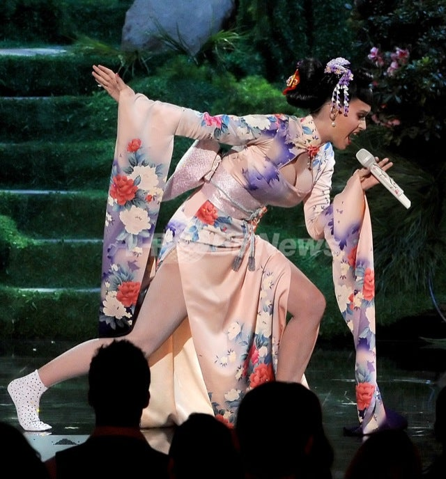 "Katy Perry's Geisha Act Being Called ""Racist"""