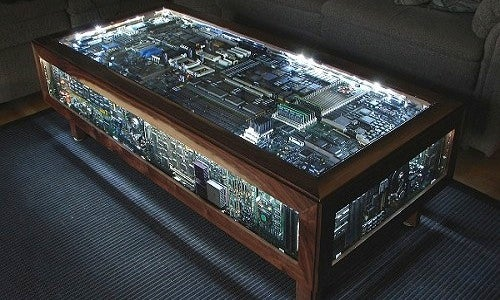 DIY Circuit Board Table