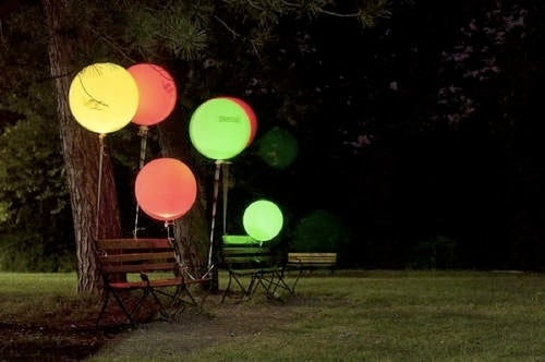 Brighten Your Backyard With Air Quality Indicating Balloons