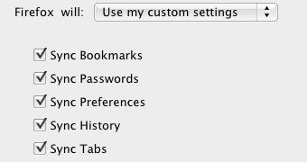 Firefox Sync to Incorporate Bookmark, Password, Preference, History, and Tab Sync Directly in Firefox