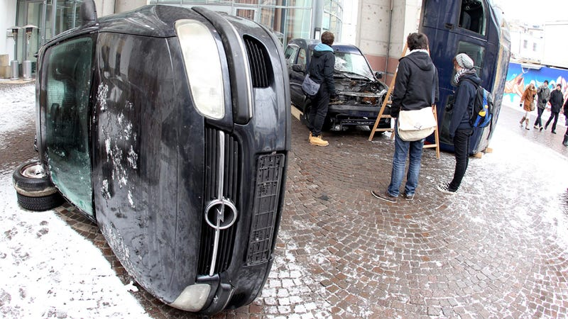 These Cars Were Not Destroyed In A Riot