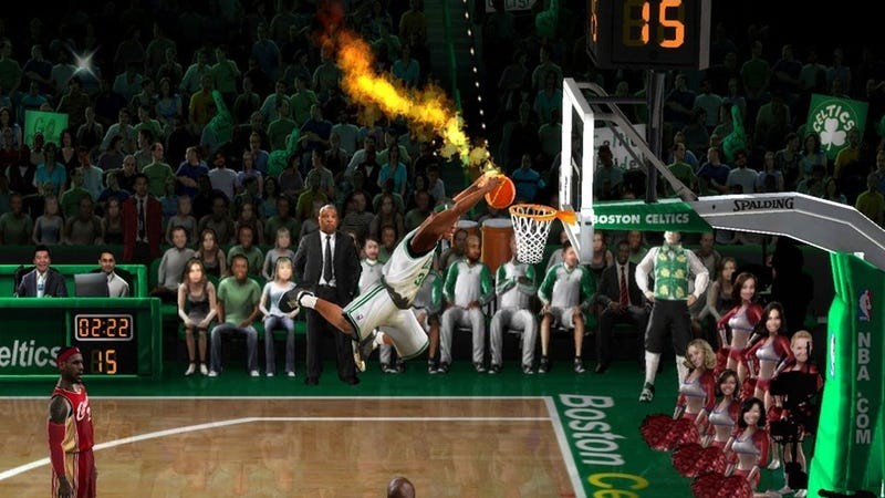 NBA Jam's Creator Really Did Set Stuff On Fire