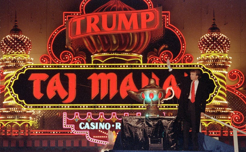 Congratulations to the Trump Taj Mahal on Being (Mostly) Rid of Both Its Pest and Trump Problems