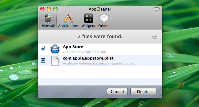 You Can Uninstall the Mac App Store, But It's Not Supported
