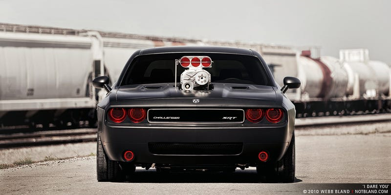 Cult Motorsport's Custom Challenger SRT8 Looks Evil