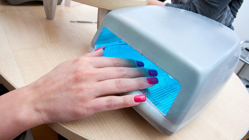 Oh Crap, Those Fancy Gel Manicures Might Be Bad for You