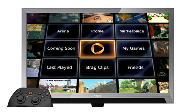 OnLive's Streaming Game Service Now Built-Into Vizio TVs, Tablet and Smartphone