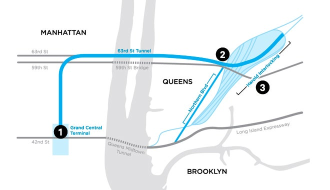 How a Massive New Railroad Is Being Blasted Out Beneath New York City