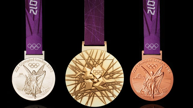 London's Olympics Medals Are the Heaviest Bling Yet