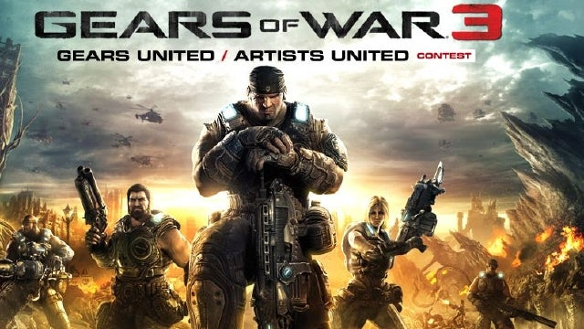 Win $10,000 and Score a Gears of War 3 Console in deviantART's Wallpaper Contest