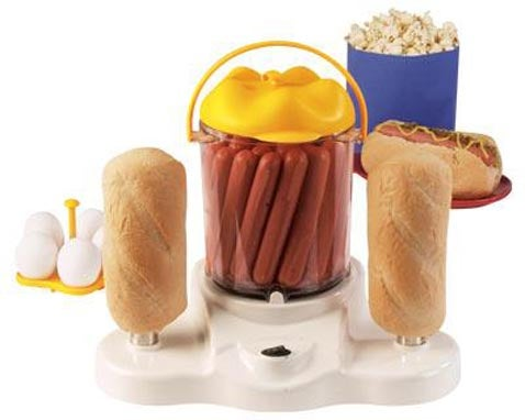 4-in-1 Hot Dog Cooker Makes Fatties Jiggle With Excitement