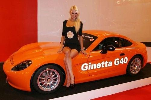 Ginetta G40: Live Photos