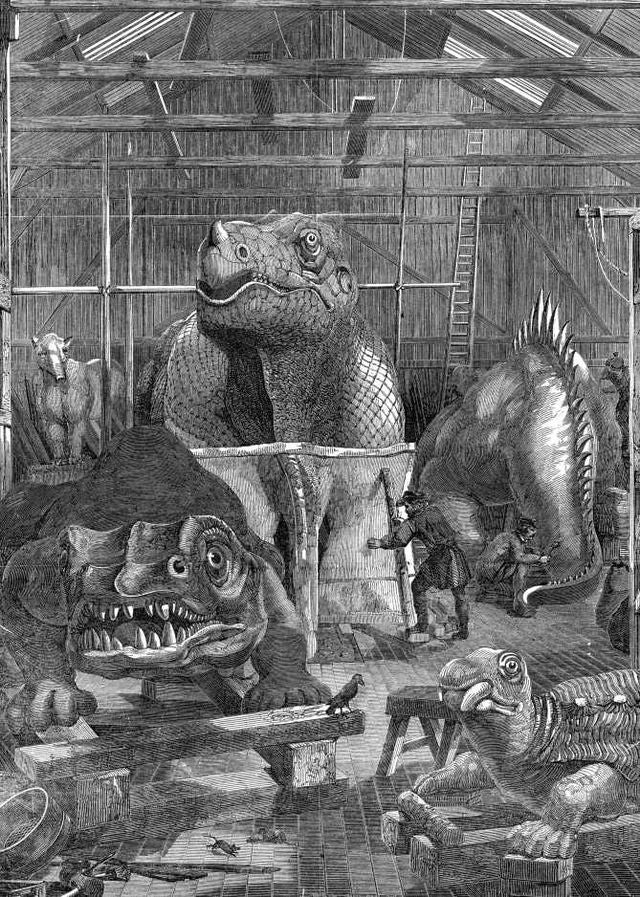 The Lost Dinosaurs of New York's Central Park