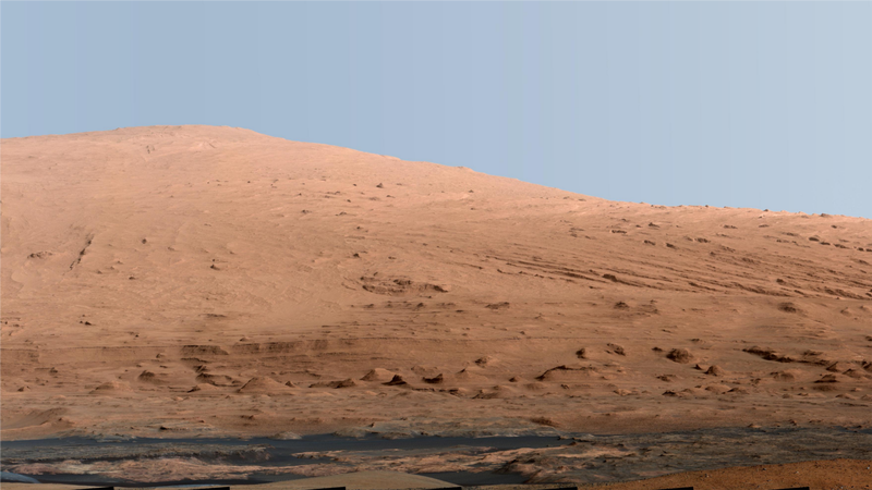 What a Giant Martian Mountain Would Look Like on Earth