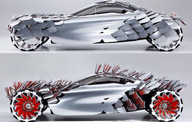 BMW Lovos Feeds On Solar Energy, Human Corpses