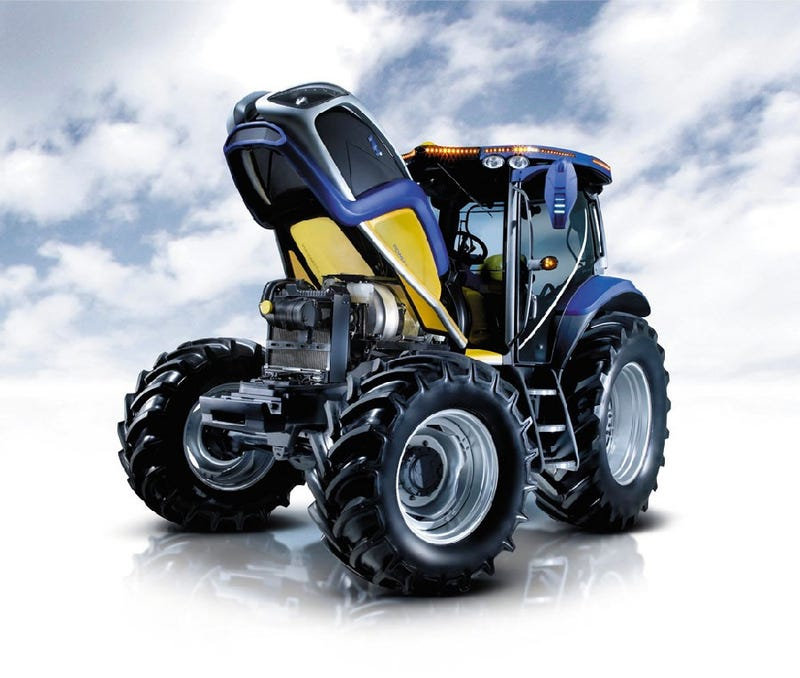 World's First Hydrogen Fuel Cell Tractor Sexier Than Most Chryslers