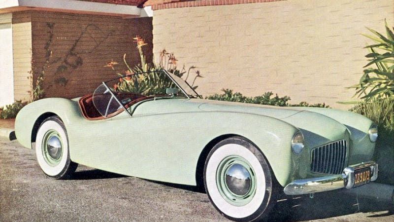 Forgotten Cars: From The Days When Fiberglass Was King Comes The Glasspar G2