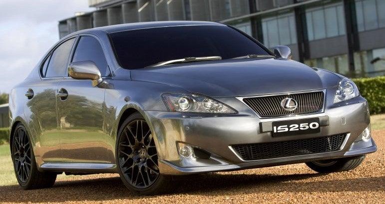 """Chrome"" Lexus IS 250 Unveiled at Sydney Show"