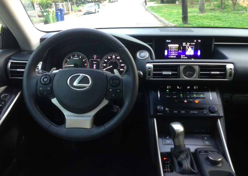 I Spent A Week Driving The 2014 Lexus IS350, And Here Are My Thoughts