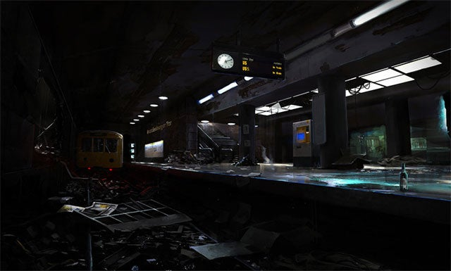 A PC First-Person Horror Game Set In A German Subway. Sounds Idyllic!