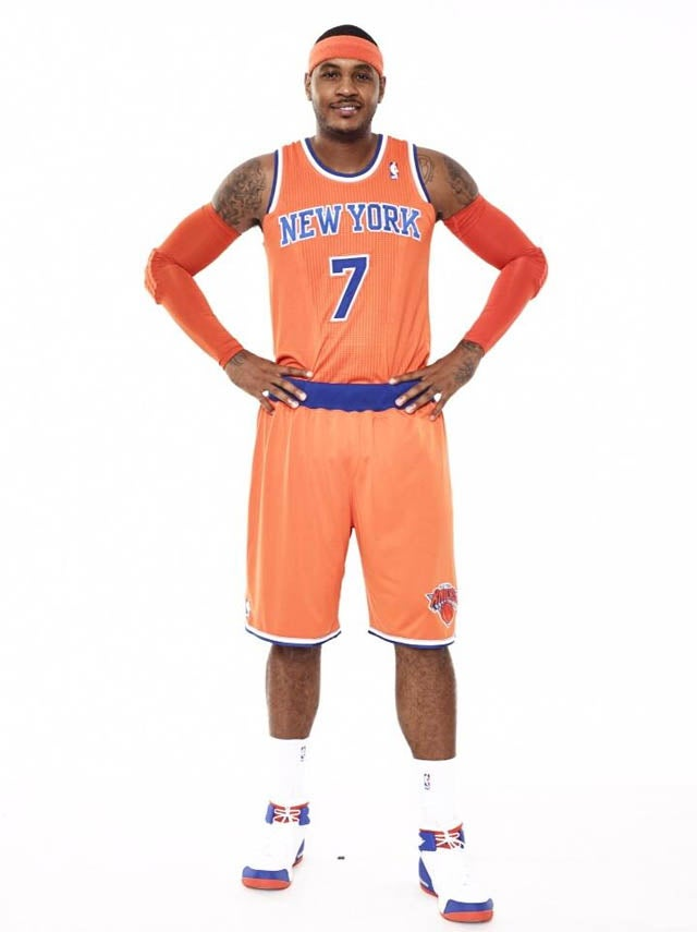 Here Are The New (Ridiculous) Creamsicle Orange Knicks Uniforms