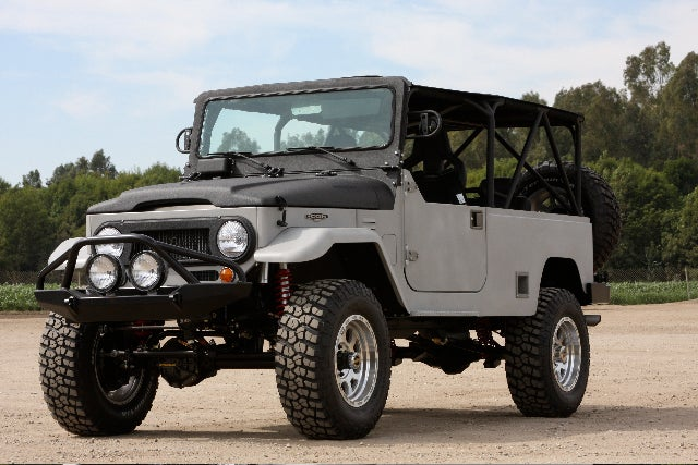 TLC Goes To SEMA With A Trio Of Upgraded ICON Toyota FJs