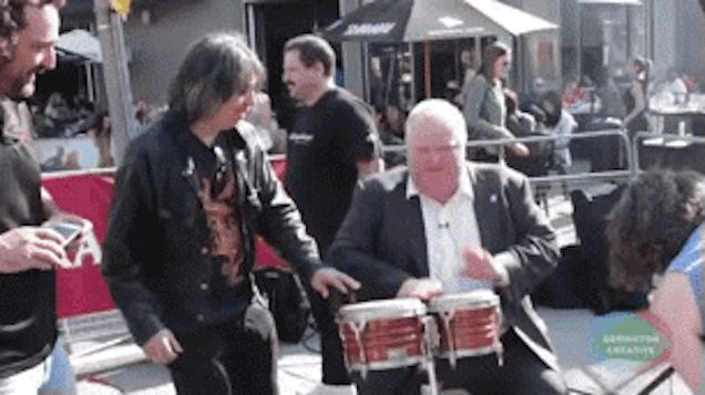 Someone Is Going to Follow Rob Ford Around With a Tuba for a Whole Day