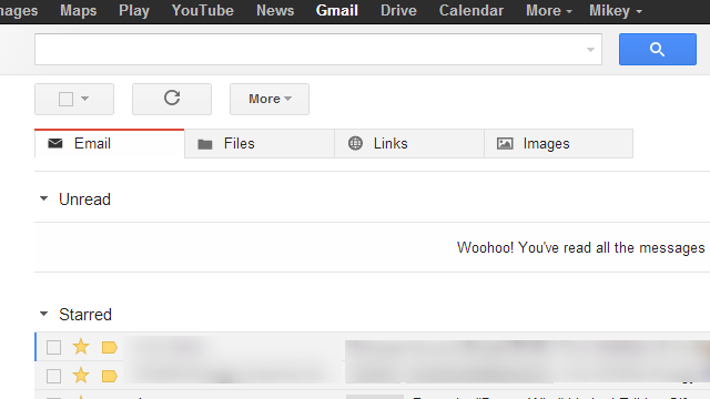 Mikey Adds Mega-Useful Files, Links, and Images Tabs to Gmail