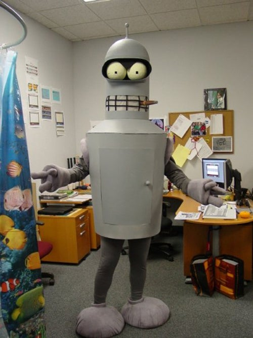 Presenting the Winner of our Sexy Robot Costume Contest