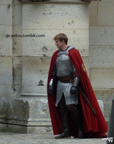 Merlin Series 5 Set Photos