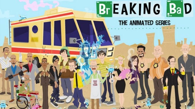 "Breaking Bad Saturday morning cartoon teaches you to ""Respect the Chemistry!"""