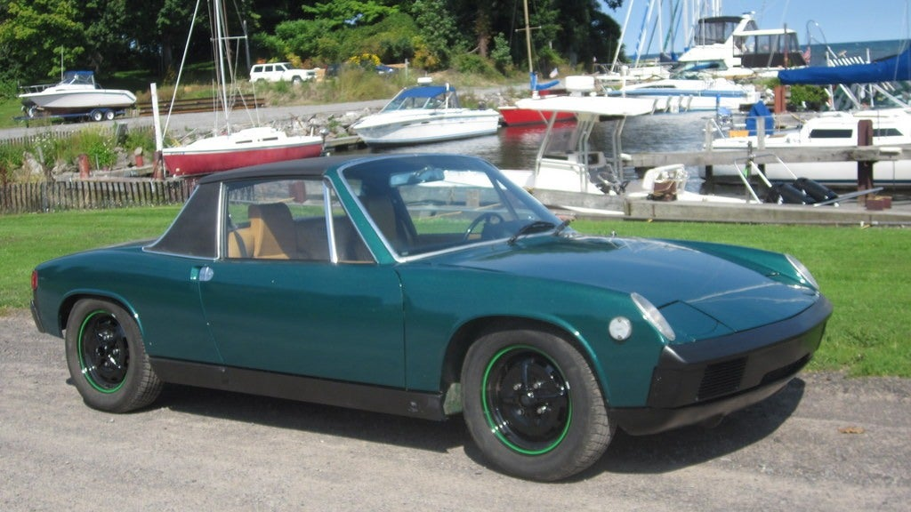 This 1975 porsche 914 has a big motor and a 5 500 price tag