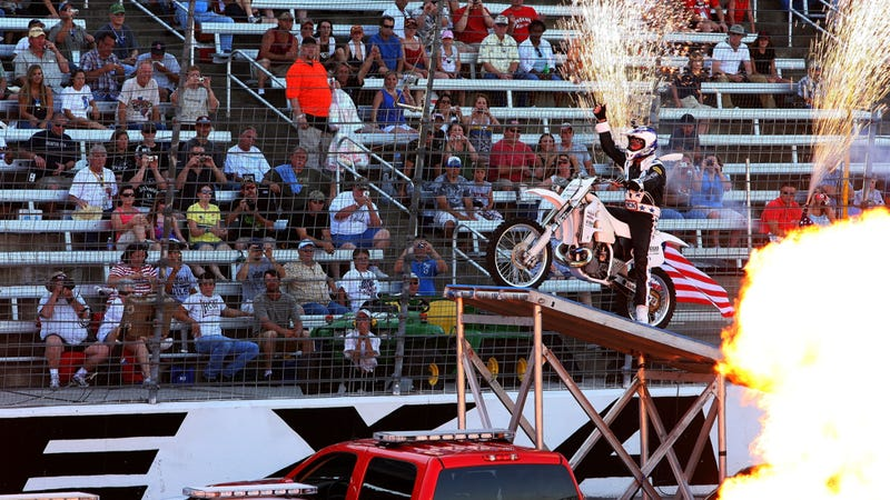 Robbie Knievel Busted For DUI In A Motorhome That Wasn't Doing Stunts