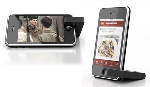 MoviePeg iPhone Stand Keeps It Simple, Stupid