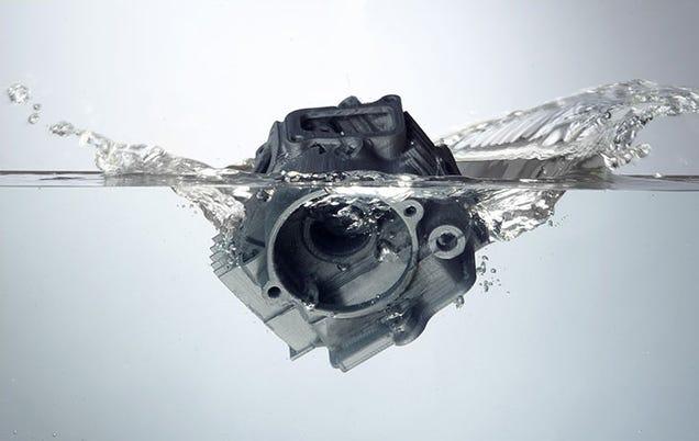 Este genial filamento de soporte para impresión 3D se disuelve en agua