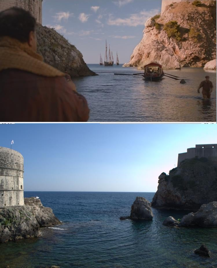 CGI Helped Turn These Real Locations Into The World of Game of Thrones