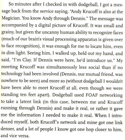 That Time You Met Krucoff Was Actually a Massive Paradigm Shift
