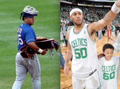 The Backup Catcher, The NBA Journeyman's Wife, And The Gropey Grandpa