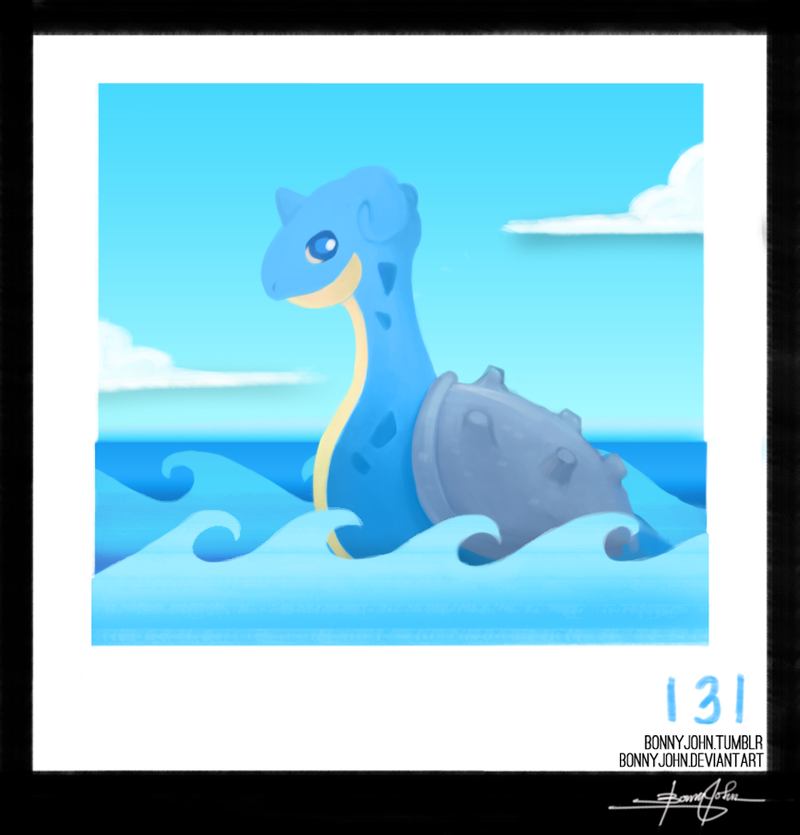 Lochness Sighted! Wait...Nope, it's Lapras! Pokemon One a Day!