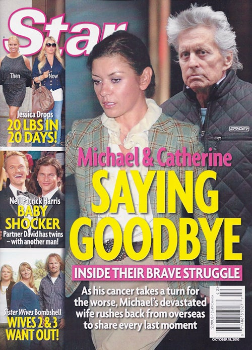 This Week In Tabloids: Michael Douglas Deathwatch & Betty Draper's Old Nose