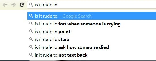 Why is it considered rude to ask how someone died?