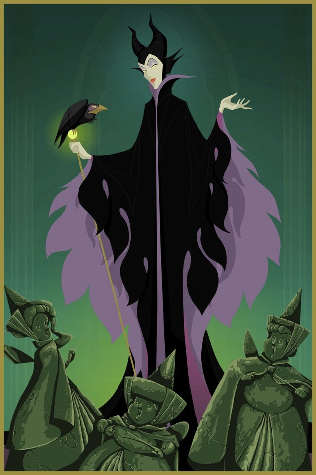 What if Disney villains all won their respective movies?