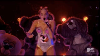 The Onion Predicted Miley Cyrus's VMA Performance in 2008