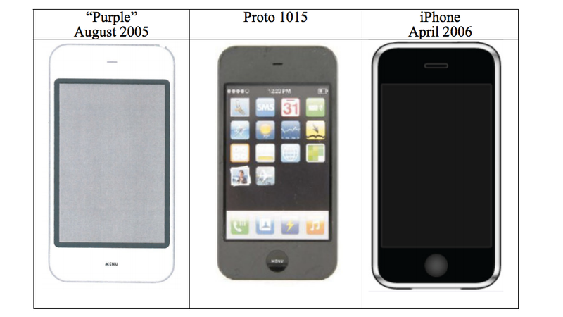 Apple Claims This 2005 iPhone Prototype Proves It Didn't Copy Sony