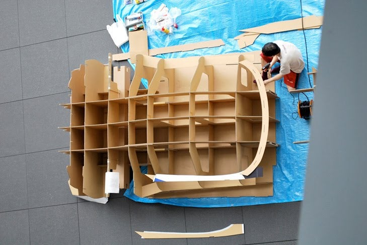 Cardboard NSX Gallery
