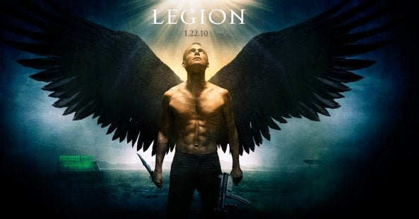 Legion's Red Band Angel War Trailer Descends Upon Humanity