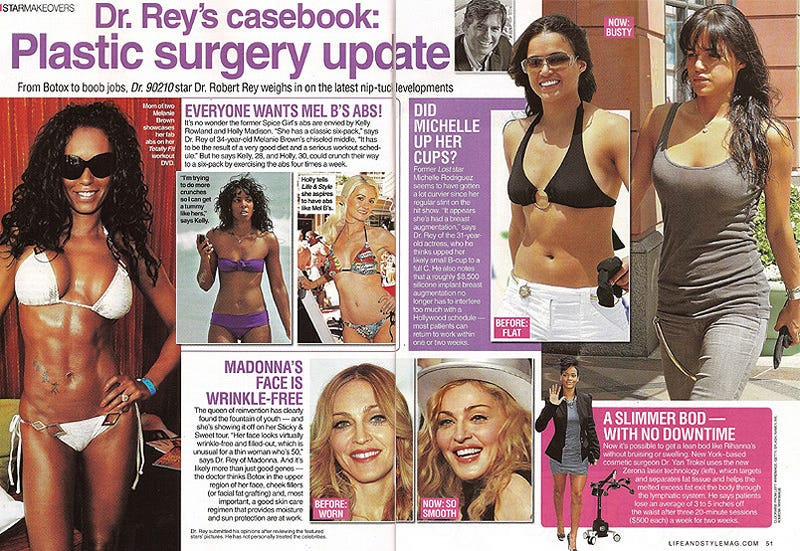 This Week In Tabloids: Sad Kids, Bikini Bodies, Catfights & Tree People