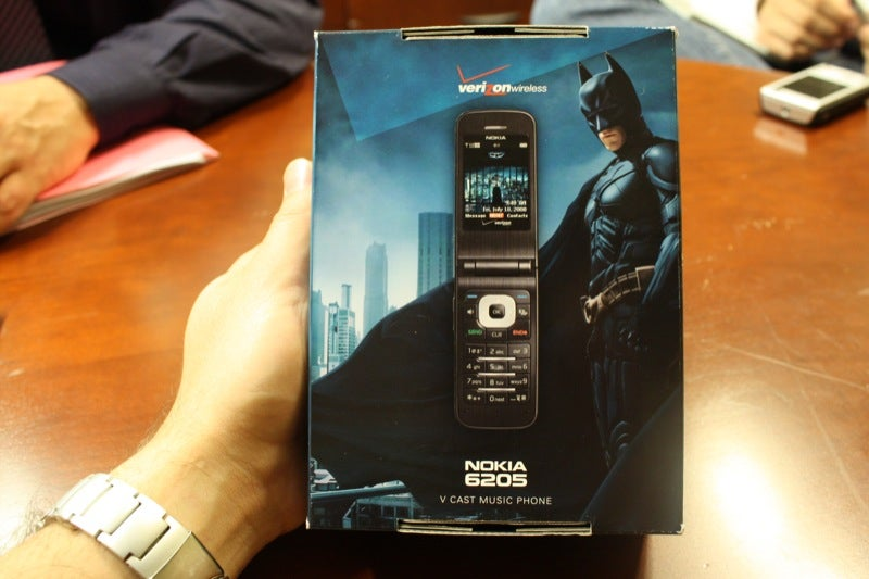 Nokia 6205 Dark Knight Batphone is for Bruce Wayne Wannabes